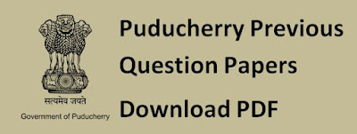 Puducherry Previous Papers
