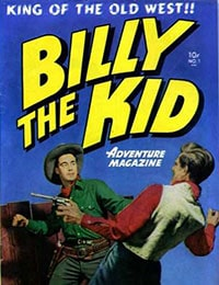 Billy the Kid Adventure Magazine
