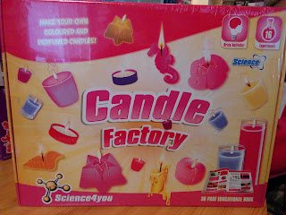 Science 4 you Candle Factory - Scientific, Educational and Fun!