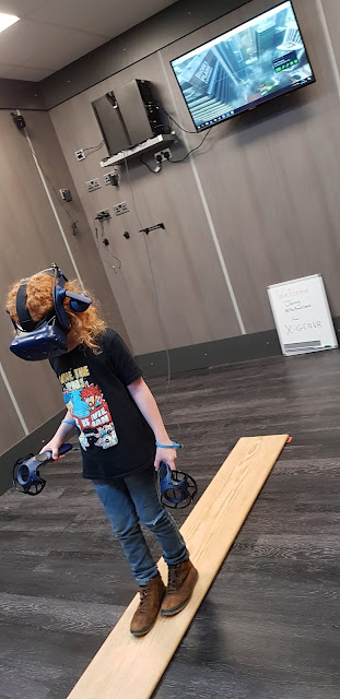 Walking the plank Virtual Reality experience game