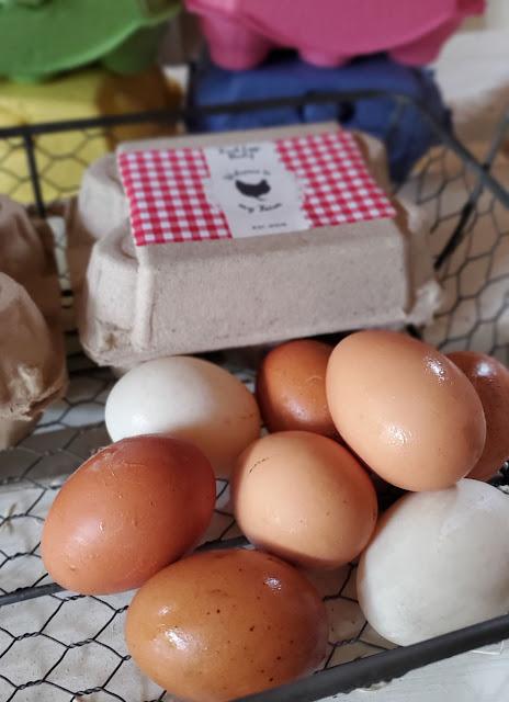 eggs and egg carton