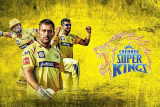 CSK team players