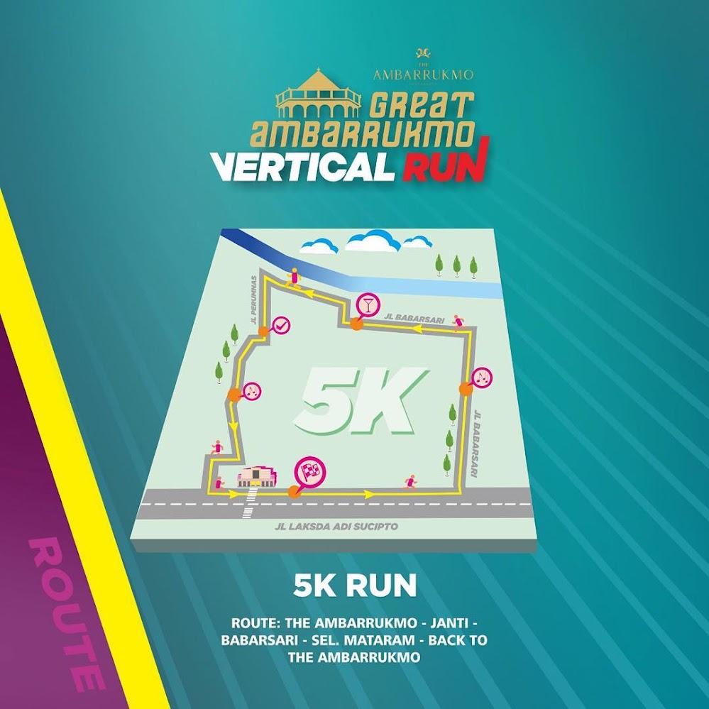 5K 👟 Great Ambarrukmo Vertical Run • 2021