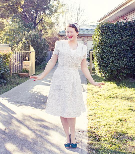 Stitching challenge 2015 for a vintage wardrobe | Lavender & Twill