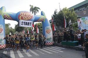 "Pangdam Bersama Wagub Bali Berangkatkan Even ""Run For Bali"" 374 Km"