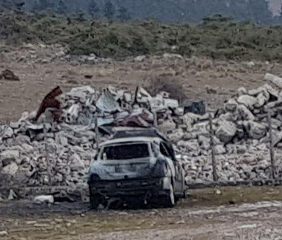 Απανθρακωμένο πτώμα βρέθηκε στον Ξηριά Καρπενησίου