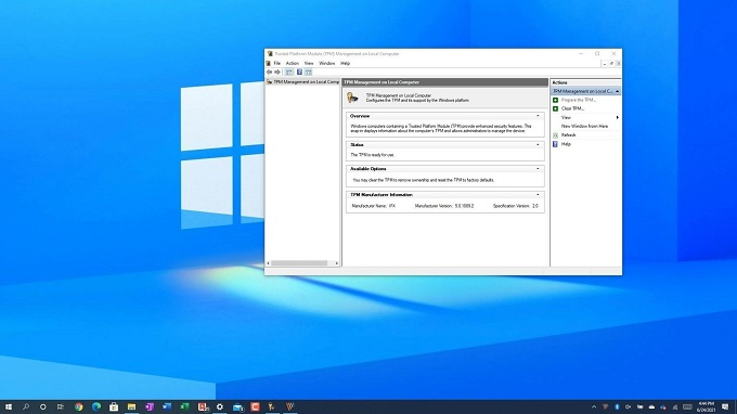 كيفية التحقق من دعم جهاز الكمبيوتر الخاص بك لميزة TPM 2.0 بطريقتين