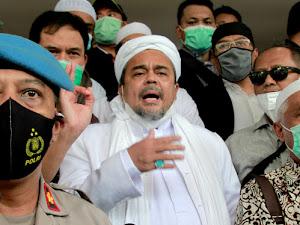 FPI Resmi Dibubarkan Rezim Jokowi, Begini Pesan Habib Rizieq Shihab