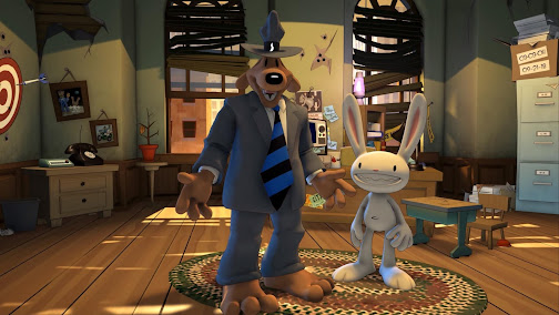 Sam & Max Save The World REMASTERED gameplay on Switch