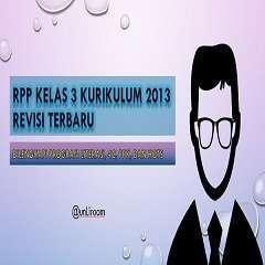RPP K13 Kelas 3