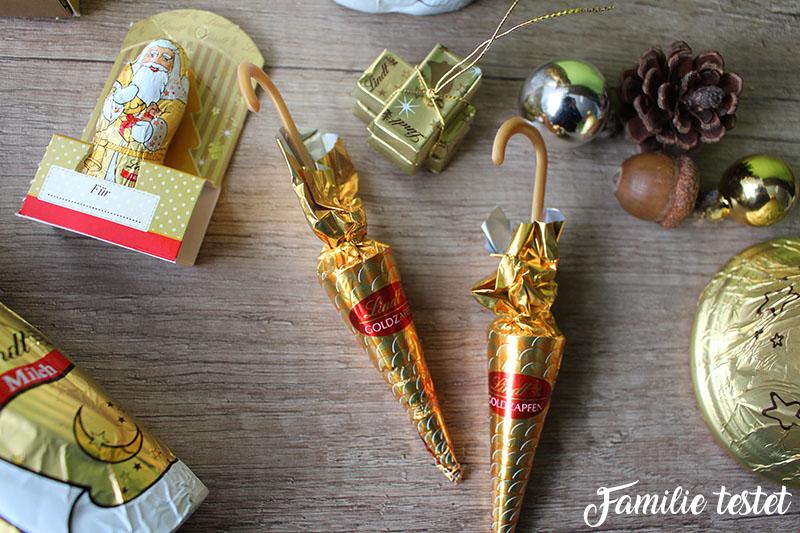 dekorative Schokolade Familie testet