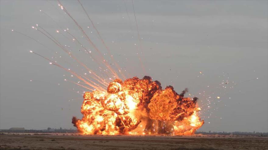 Y una Bomba rusa de 11 toneladas de TNT, más potente que MOAB de EEUU