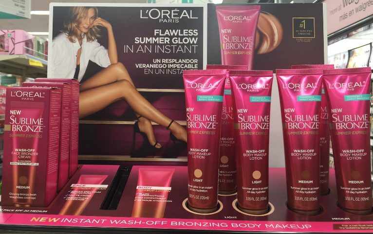 Spotted New L Oreal Sublime Bronze Summer Express Wash