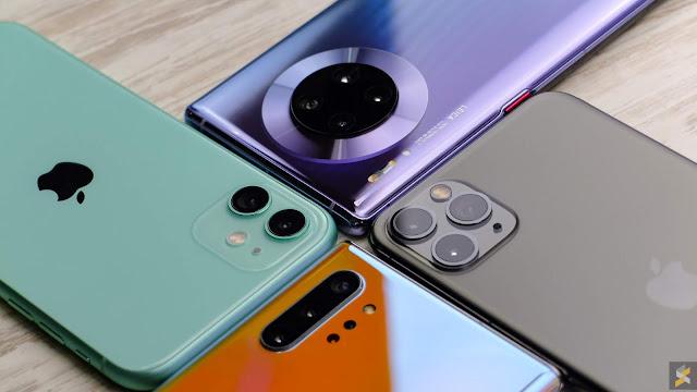 أكثر الهواتف مبيعاً عام 2019