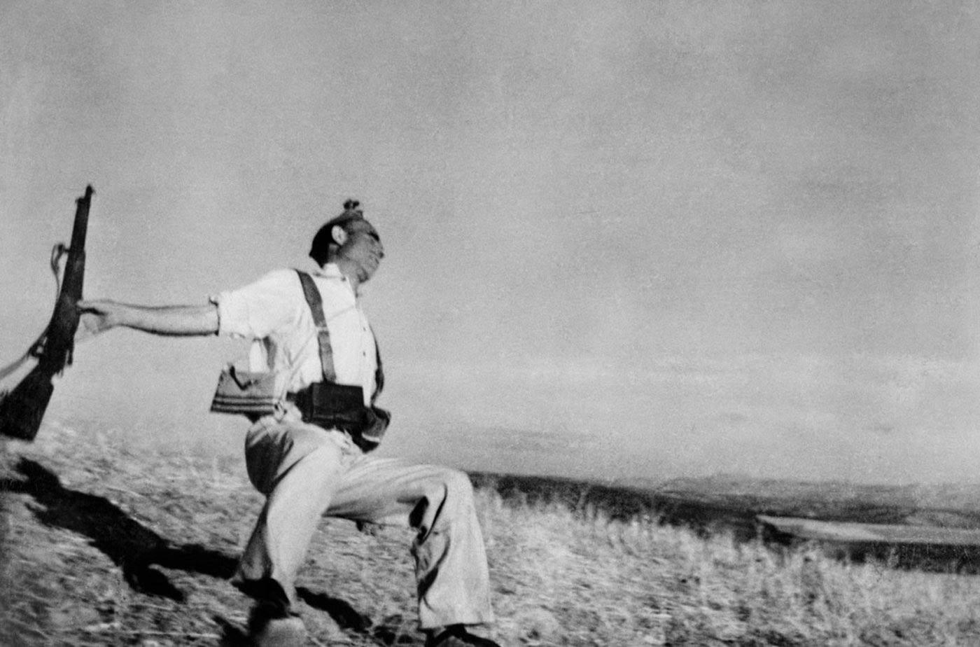 El soldado caído, 1936.