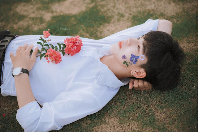 Điển trai như nam thần Hàn Quốc, bộ ảnh của nam sinh Hải Phòng bất ngờ gây sốt MXH - Ảnh 2