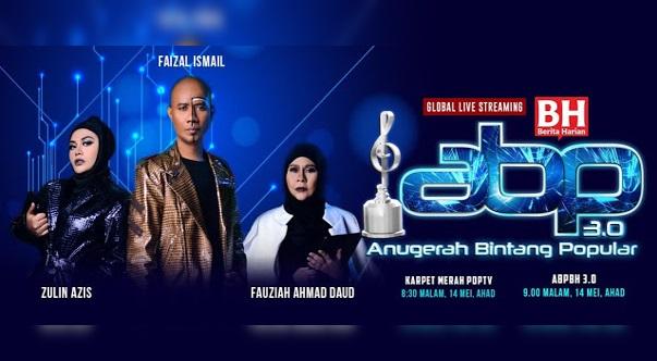 Live Streaming Malam Kemuncak Anugerah Bintang Popular BH (ABPBH3.0) 2017