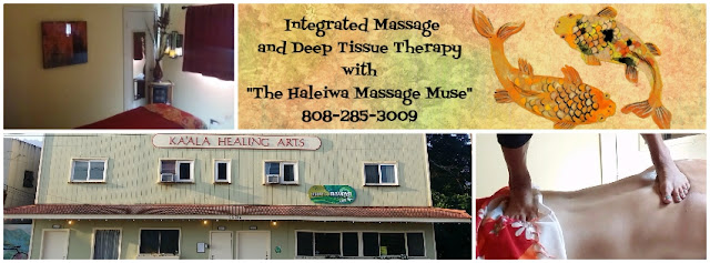 Picture of Haleiwa North Shore massage clinic and ashiatsu massage