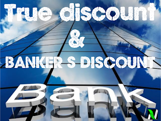 True Discount and Banker's Discount problems tricks in Hindi | fast track formulae for problem solving.