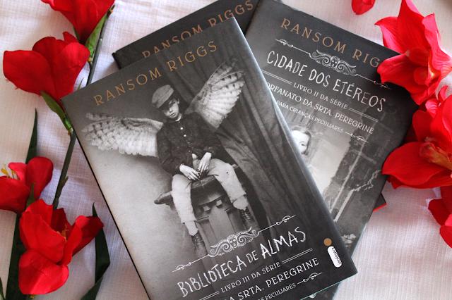 Cidade dos Etéreos e Biblioteca de Almas - Srta. Peregrine - Livros 2 e 3 – Ransom Riggs