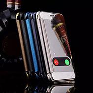 เคส-iPhone-6-รุ่น-เคส-iPhone-6-และ-6s-ฝาพับกึ่งเงา-รับสายได้จากฝาพับ