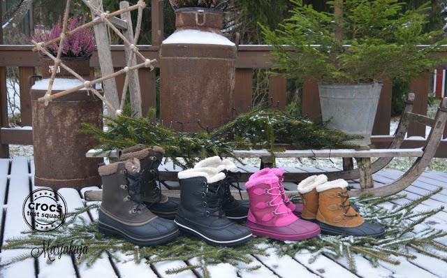 Crocs allcast boot testquad