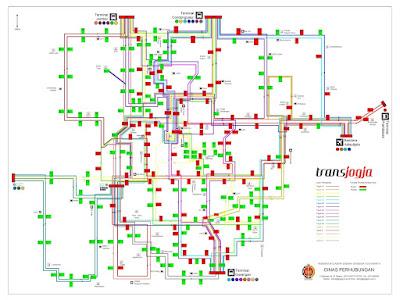 PETA WISATA DI YOGYAKARTA | YOGYAKARTA TOURISM MAP