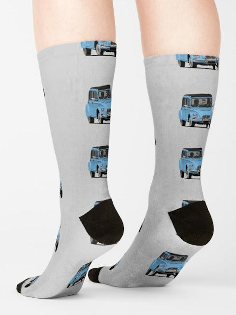 Citroën Dyane 6 socks - clothing