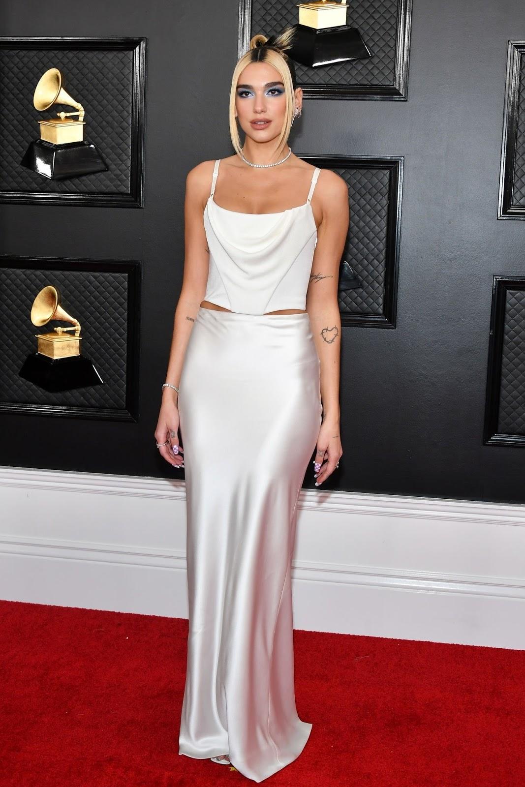 Dua Lipa In Alexander Wang – 2020 Grammy Awards