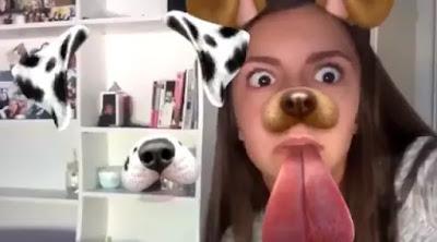 Asyik Main Snapchat, Remaja Ini Syok Lihat Penampakan Hantu