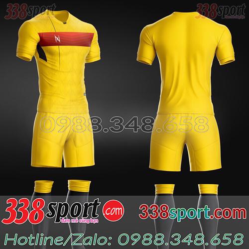 Áo Bóng Đá Không Logo Hot Zavikia ZaRa STA03 Vàng