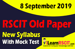 RSCIT old paper in hindi, RSCIT Old paper 8 September 2019, Rscit paper, learn rscit, LearnRSCIT.com, LiFiTeaching, RSCIT, RKCL, Rscit old paper  8 September 2019 online test, rscit old paper 8 September 2019 vmou, rscit old paper 8 September 2019 with answer key, rscit old paper 8 September 2019 with solution, rscit old paper 8 September 2019 and answer key, rscit old paper 8 September 2019 ans, rscit old question paper 8 September 2019 with answers in hindi, rscit old questions paper 8 September 2019, rkcl rscit old paper 8 September 2019, rscit previous solved paper 8 September 2019, RSCIT website, new syllabus