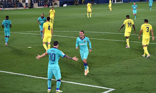 Video: Griezmann's Goal vs Villarreal named Barcelona goal of the season