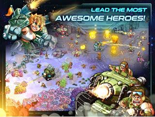 Iron Marines Mega Mod Apk (Unlimited Tech Point Money Unlocked Heroes)