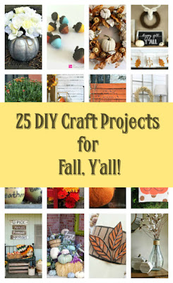 Fall collection of crafts diy how to tutorials and projects.