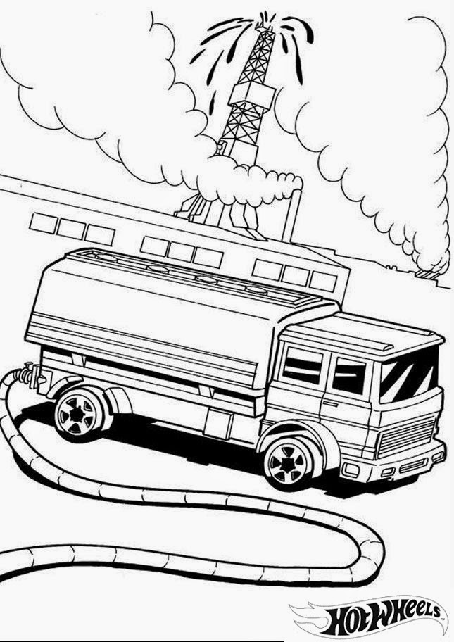 Hot Wheels Coloring Pages 30