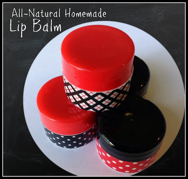 DIY Lip Balm - homemade lipbalm - simple to make!  #diy #homemade #chapstick #lipbalm #lips