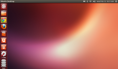 Ubuntu 13.04 on a multi-touch screen