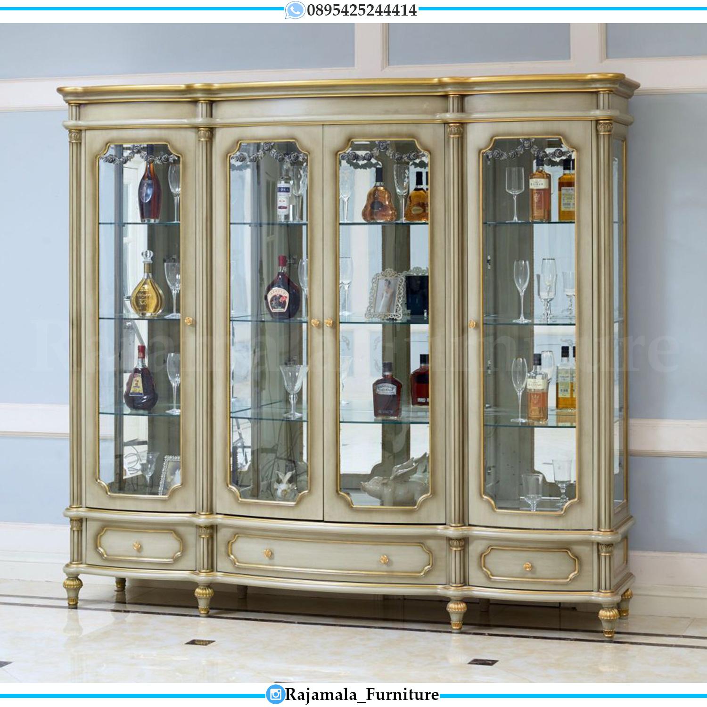Harga Lemari Hias Mewah Jepara Duco Color Luxury Classic Furniture RM-0035