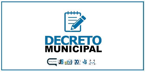 Novo decreto - Prefeitura prorroga medidas e acrescenta outras como o cancelamento de festividades de carnaval no município.