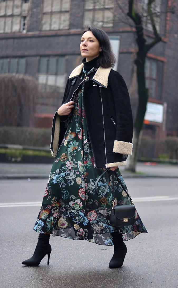 sukienka i kozuch stylizacje