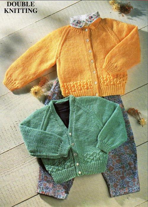 Baby Cardigans Knitting Patterns - Free Download