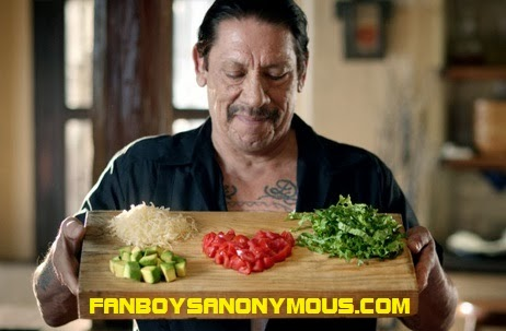 Danny Trejo endorses international mexican food brand Old El Paso