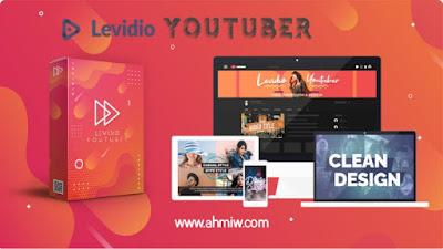 Template youtuber dari levidio