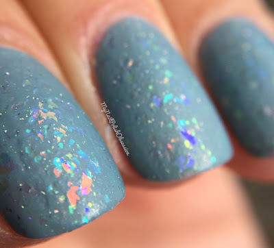 Darling Diva Polish May the Force Be With You and Girly Bits Stormy Skies