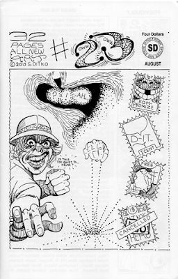 Ditko Fanzine: The four pages series