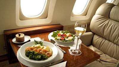 Rasa Makanan di Pesawat Berbeda dari Biasanya