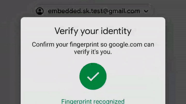Android users can log into some Google services using their