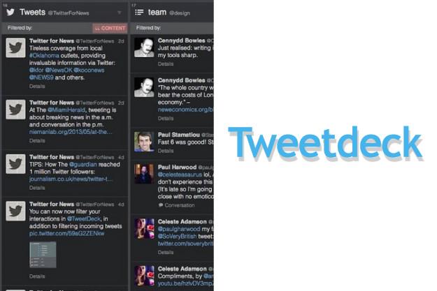 πολλές στήλες twitter