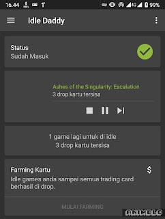 drop card game otomatis